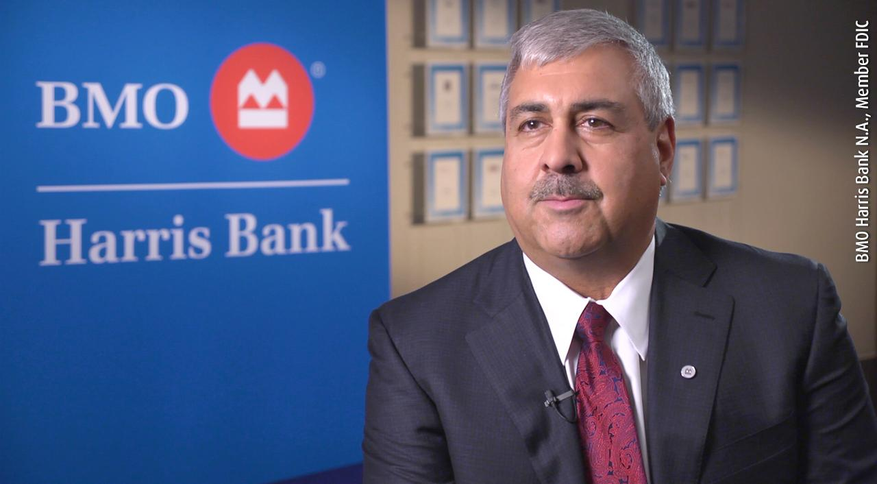 Shahrokh Shah, BMO Harris Bank Click here to play video.