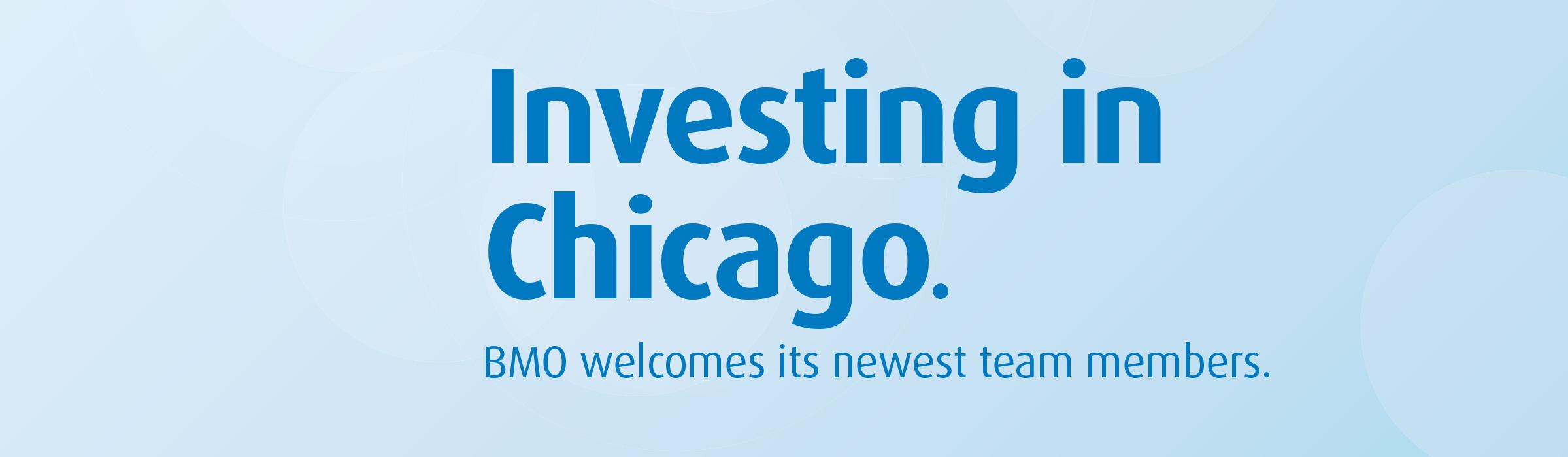 BMO's new banking team in Chicago