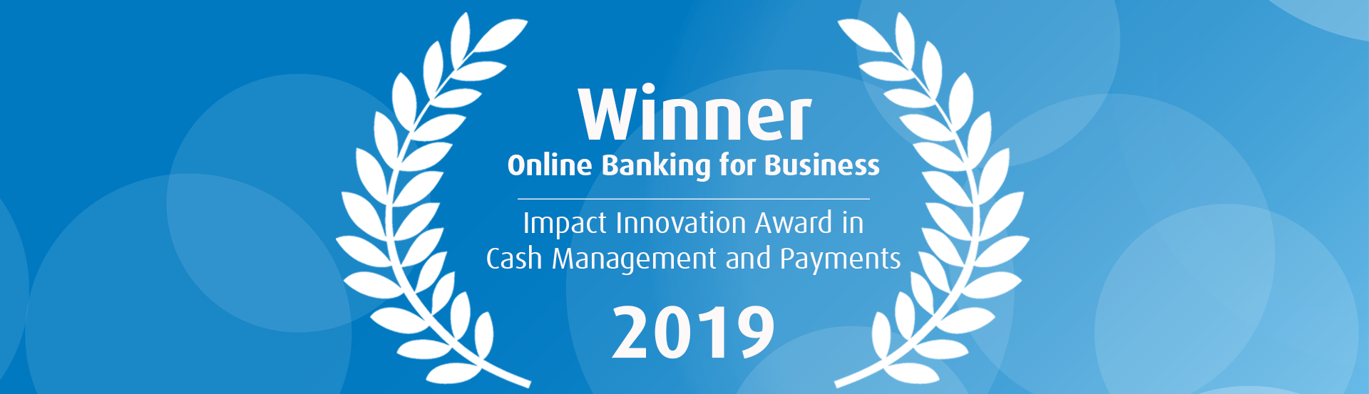 Impact Innovation Award in Cash Management and Payments 2019